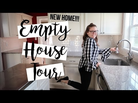 OUR NEW HOME | EMPTY HOUSE TOUR | FALL 2019!!!