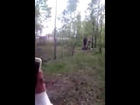 Француженку ебут толпой в лесу — pic 2
