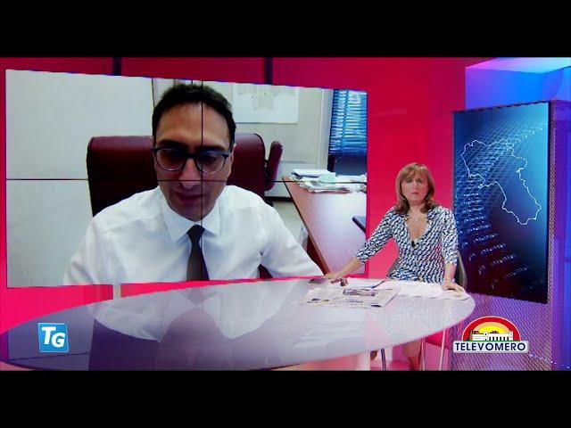 TELEVOMERO NOTIZIE IN COLLEGAMENTO CON IVAN GENTILE – DIRETTORE MALATTIE INFETTIVE AOU FEDERICO II 1