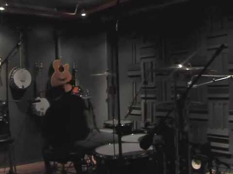 "Wolves Like Us - Jonas recording the drums for ""Shiver In The heat"""