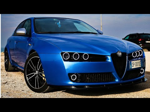 ALFA ROMEO 159 WITH INSANE WRAP!!! REVIEW, POV, ON BOARD, REVS..
