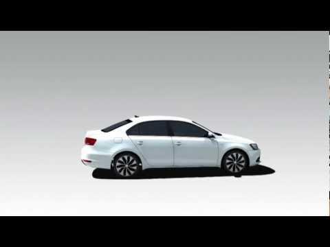 2013 Volkswagen Jetta Hybrid - Animation
