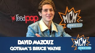 David Mazouz (Gotham's Bruce Wayne) Press Interview From MCM Manchester Comic Con - July 2019
