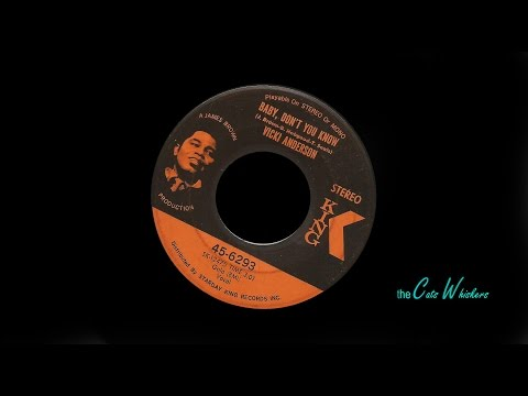 vicki anderson - baby don't you know