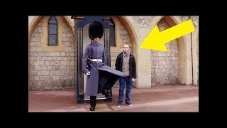 This Man With Down Syndrome Approaches Royal Guard, And The Soldier's Response Was Startling