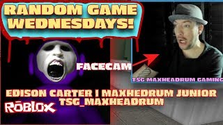 😎 Random Game Wednesdays Roblox Gaming OFF THE GRID! 💯💯TSG Maxheadrum & friends
