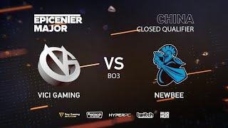 Newbee vs Vici Gaming, EPICENTER Major 2019 CN Closed Quals , bo3, game 1 [Jam & Inmate]