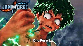 JUMP FORCE - NEW Deku and Asta GAMEPLAY Reveal Trailer! Jump Festa 2018!