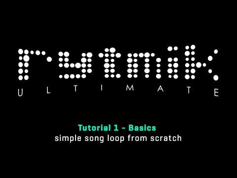 Rytmik Ultimate: Tutorial 1 - Basics (simple song loop from scratch)