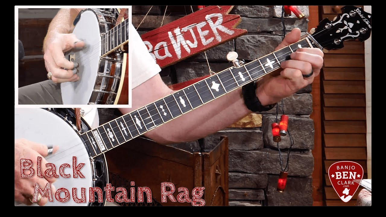 Black Mountain Rag in C for Banjo!