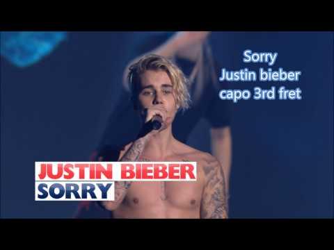 Sorry Justin Bieber Lyrics And Chords