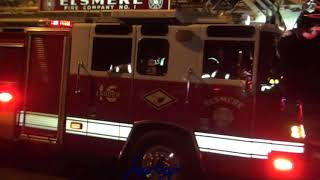 Fire Engines to apartment fire in Stanton 10 20 17