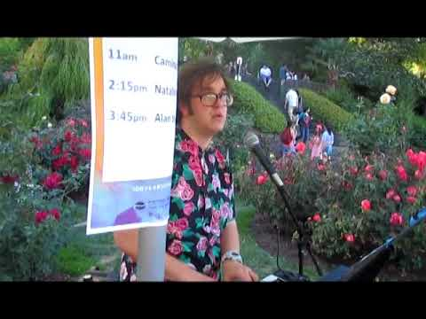 Alan Singley Live At Washington Park Rose Garden 100 Year Anniversary '17
