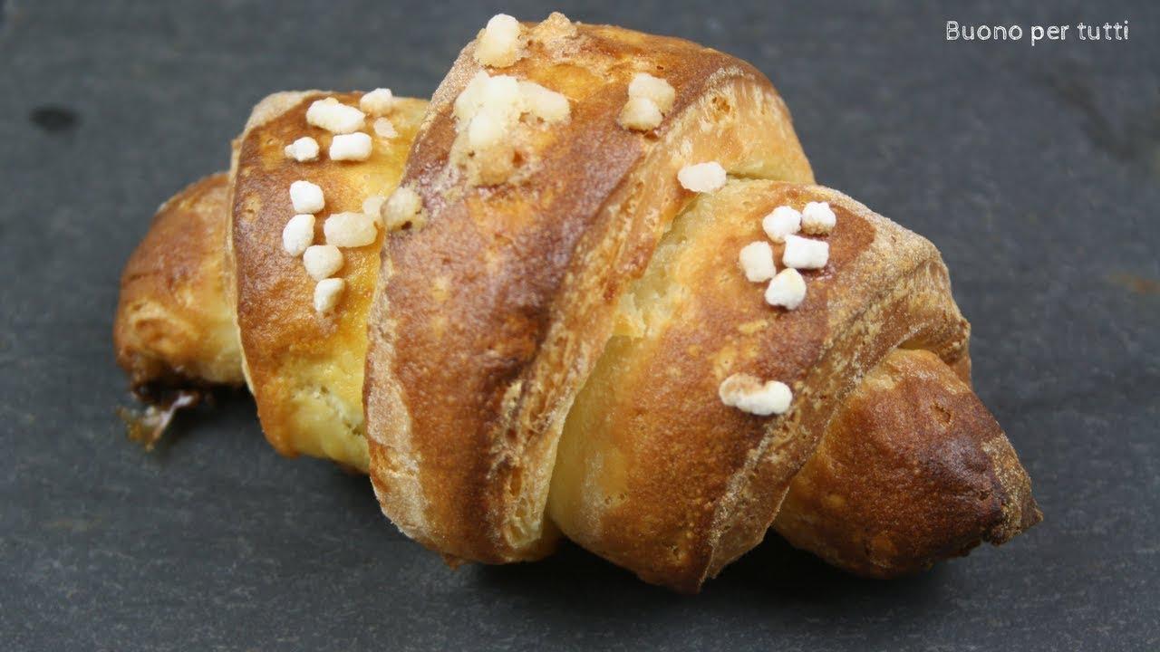 Ricetta Brioches Senza Glutine.Croissants Sfogliati Senza Glutine Buono Per Tutti Youtube