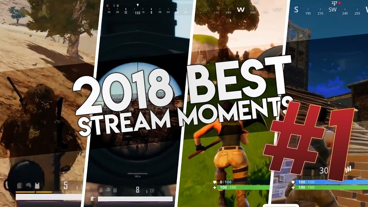PUBG – FORTNITE // BEST STREAM MOMENTS #1 [Deutsch/German]
