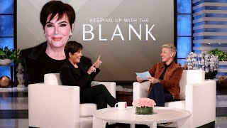 Kris Jenner Spills on Her Family in 'Keeping Up with the Blank'