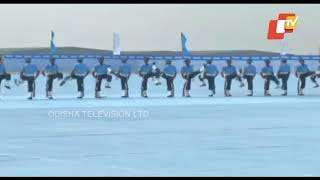 President's Colours Presented To Indian Air Force