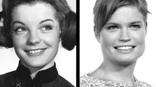 Sarah Biasini and Romy Schneider  | daughter and mother