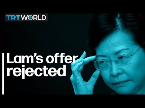 Hong Kong Protests: Protest leaders reject Lam's offer for dialogue