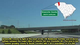 I 85 North MM 34 to MM 51 Greenville County, SC