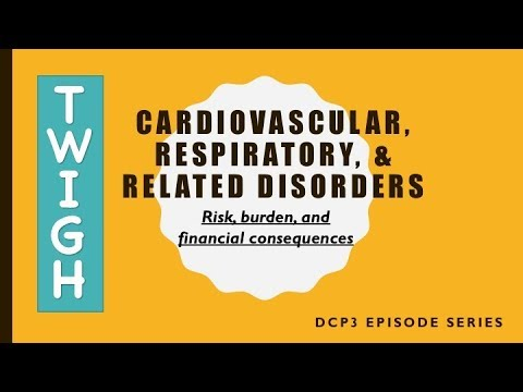 Cardiovascular, Respiratory, and Related Disorders: Risk, Burden, and Financial Consequences