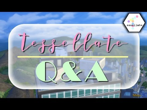 Tessellate Q&A + SIMS 4 WEDSTRIJD! || Penthouse Let's Build (Nederlands)