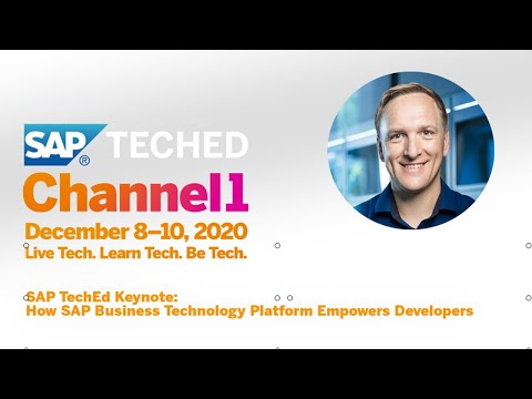 SAP TechEd Keynote: