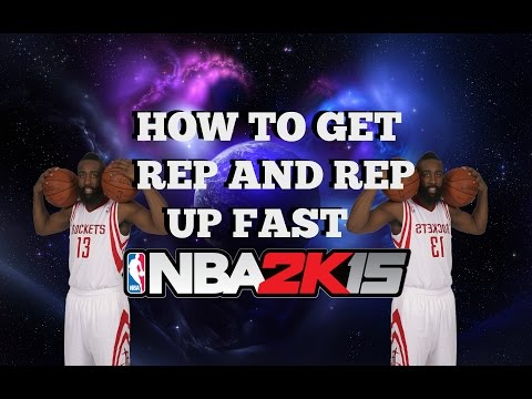 Nba2k15   The Fastest Way To Rep Up   Step by Step Guide