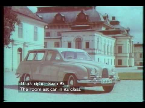 saab 95 tv ad sweden 1959a