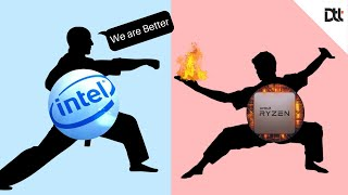 Intel Admitted AMD Did a Great Job but...We are Still Better [In HINDI]