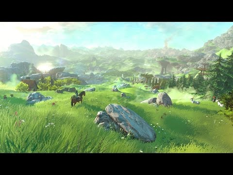 The Legend of Zelda Wii U Fullscreen Footage from The Game Awards