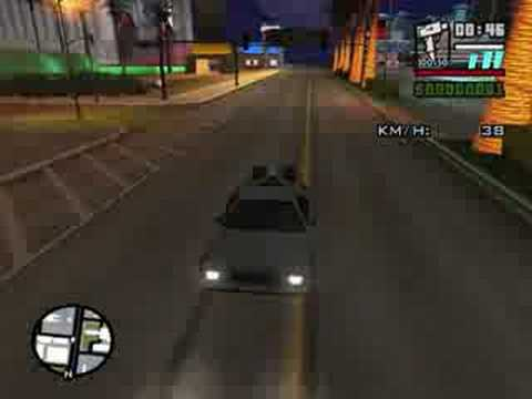 GTA San Andreas Back to the future+High Graphic