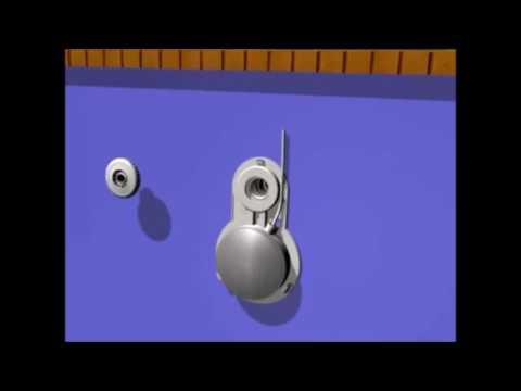projecteur led blanc seamaid pour piscine hors sol youtube. Black Bedroom Furniture Sets. Home Design Ideas