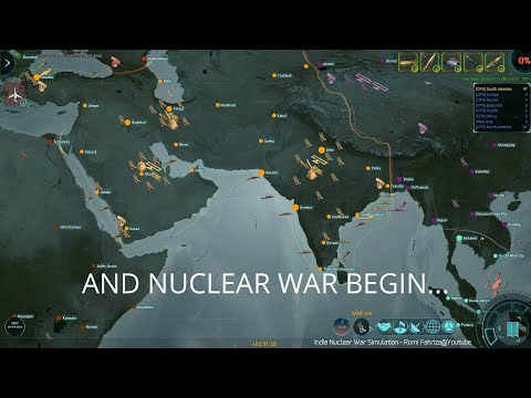 India Nuclear War Simulation (ICBM Gameplay) |