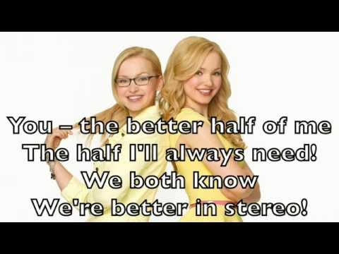 Dove Cameron (Liv and Maddie) - Better in Stereo Karaoke Cover Backing Track Acoustic Instrumental