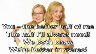 dove cameron liv and maddie better in stereo karaoke cover backing track acoustic instrumental
