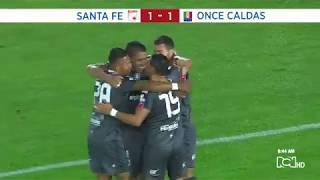 Los goles de los cuartos de final de la Copa Águila 2018
