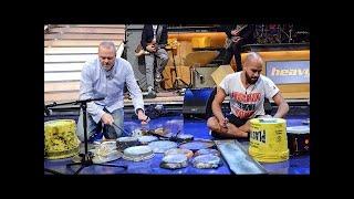Street Drummer Dario Rossi - TV total