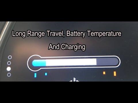 2018 nissan leaf review part 2 long range travel battery temp youtube. Black Bedroom Furniture Sets. Home Design Ideas