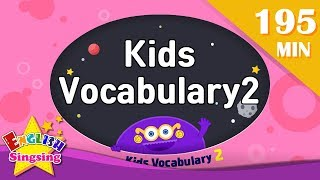 Kids vocabulary 2 compilation -All collection (ABC first Dictionary)|English for kids