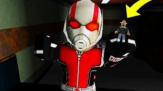 ANTMAN RETURNS FOR REVENGE! (Roblox Flee The Facility)