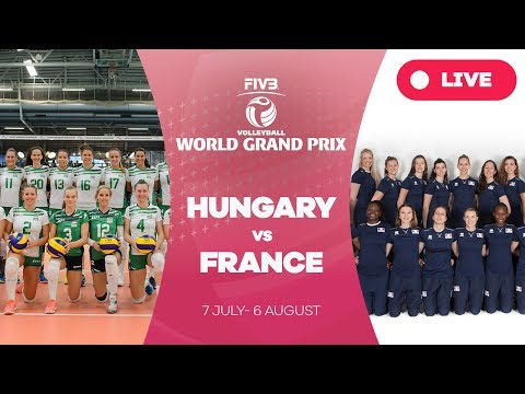 Hungary v France - Group 3: 2017 FIVB Volleyball World Grand