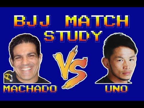 BJJ Match Study: Jean Jacques Machado vs Caol Uno (ADCC '99)