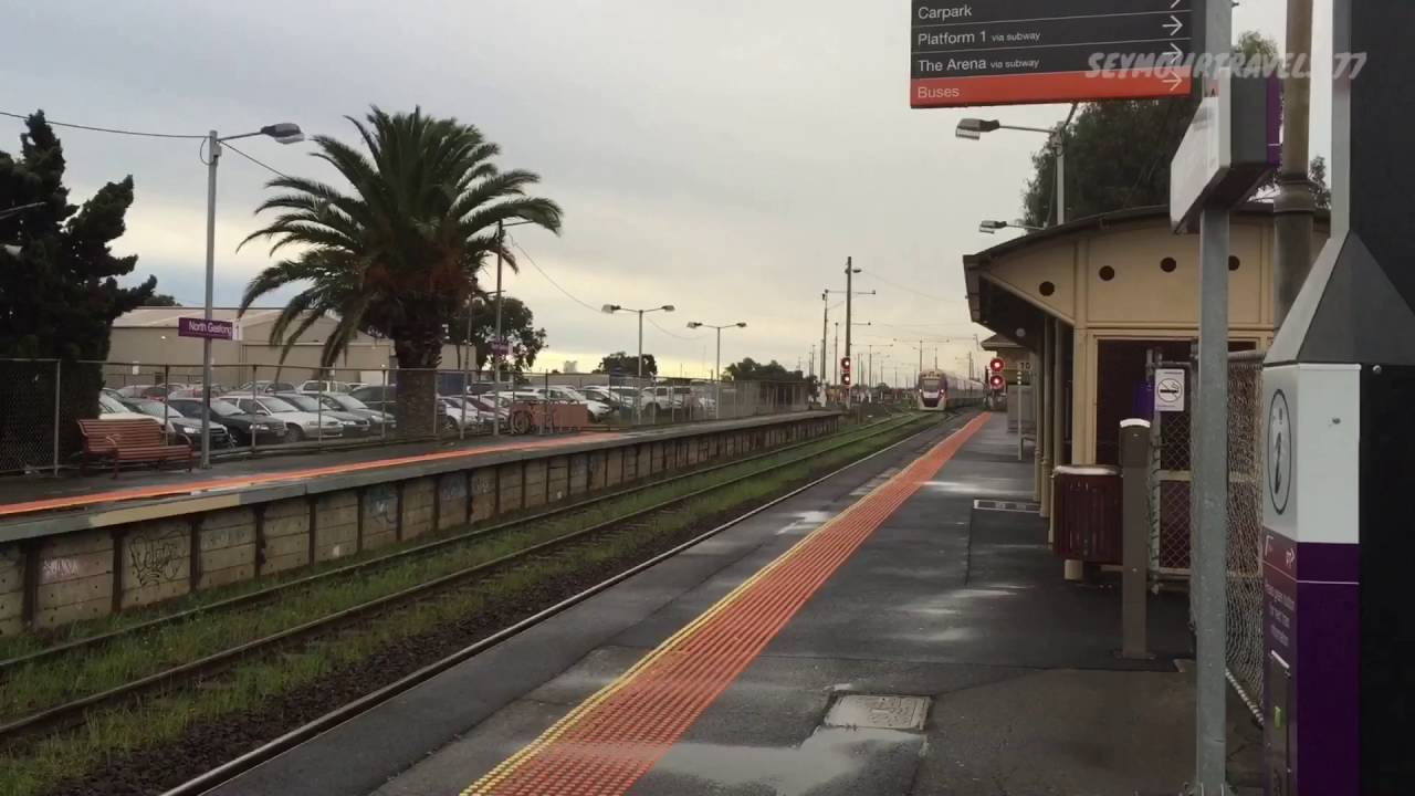 V Line North Geelong Station 9 9 2016 Youtube