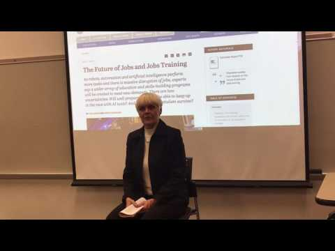 Elon Professor Janna Anderson on the Pew Research Center