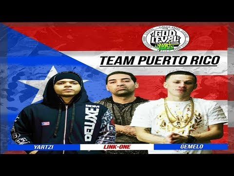 !TEAM PUERTO RICO GOD LEVEL FEST 2018 3 VS 3! / DEAN RAP
