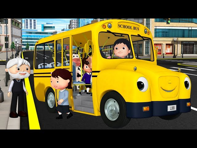 Wheels on The Bus Original | +More Nursery Rhymes & Kids Songs | Learn with Little Baby Bum