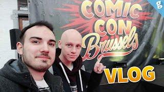 Notre VLOG au COMIC CON BRUSSELS  ! (en feat avec la Fatigue)