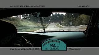 VLN 2005 - Jürgen Alzen Motosport - Porsche 996 GT2 Turbo - Uwe Alzen - Onboard 3