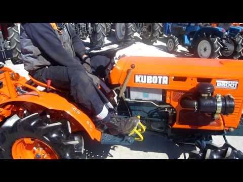 ΤΡΑΚΤΕΡAKI KUBOTA B6001 4WD 4X4 www.trakter.com ΤΑΓΤΑΛΕΝΙΔΗΣ